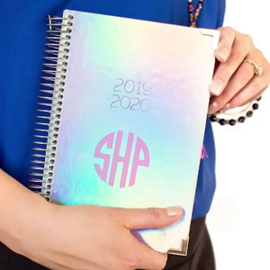 2019-2020 Academic Year Planner - Iridescent